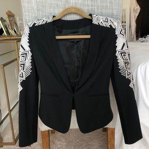 BCBGMazAzria Embroidered Blazer